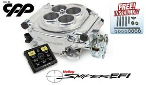 Holley Super Sniper Self Tuning Efi Fuel Injection Conversion Kit 650hp 550 518