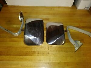 1979 Ford Bronco Stainless Mirrors Fits Door F150 F250 302 351 429 460 Motor