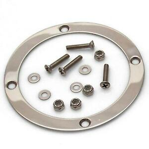 American Shifter Asctr101 Round Shift Boot Trim Ring With Hardware