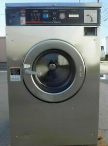 Speed Queen Front Load Washer Coin Op 25lb 208 240v Model sc25md2ou40420 ref