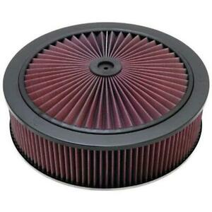 K N 66 3020 X Stream Airflow Air Filter Assembly 14 X 4 Raised Base
