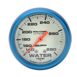 Autometer 4531 Ultra Nite Mechanical Water Temperature Gauge
