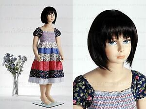 Child Mannequin Girl 4 5 Years Old Hand Made full Body Realistic Manikin molly