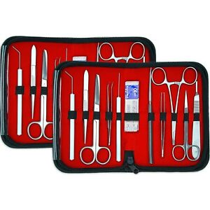 2 Pack Student Dissecting Dissection 20 Pcs Advanced Biology Lab Anatomy Kit