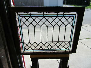 Antique Stained Glass Window 1 Of 2 33 5 X 25 25 Architectural Salvage
