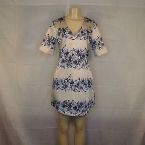 Topshop Floral Cocktail Party Dress Sz 8 Nwt Retail 135 Free Shipping Ad