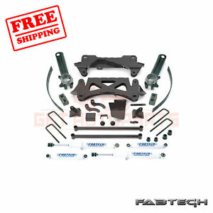 Fabtech 6 Perf Sys W Shocks For 1995 5 04 Toyota Tacoma 6 Cyl 6 Lug 2wd 4wd