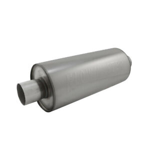 Flowmaster 12514310 Dbx Series Muffler 2 5 Inlet outlet Round 409s Stainless