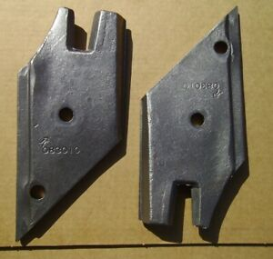 2 Kverneland Plow Points With Bolts Nuts Nos 083010