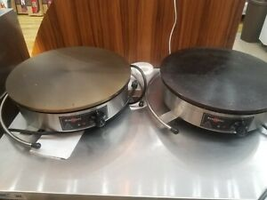 2 Crepe Maker Electric Krampous like Brand New Use 2 Times
