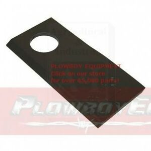 A 9847683 Case Ih ford New Holland Disc Mower Blade Rh Set Of 25