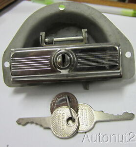 1949 Lincoln Cosmopolitan Glove Box Lock Nos With Lincoln Keys