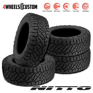 4 X New Nitto Ridge Grappler 35 12 5 17 121q All terrain Tire