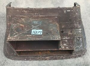Used Original 1945 1949 Mgtc Front Cowl Firewall Toolbox H224