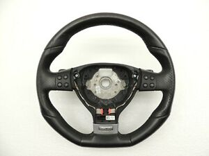 Mk5 Vw Golf Gti 3 Three Spoke Leather Steering Wheel With Dsg Paddle Shifts 727