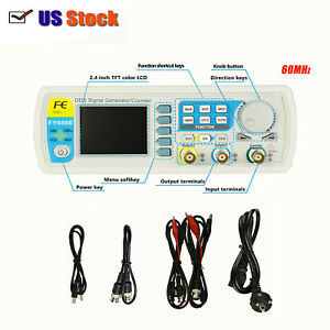 Fy6800 60mhz Dds Signal Generator Counter Frequency Meter Arbitrary Waveform Us