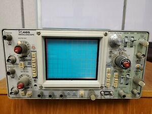 Tektronix 465 Oscilloscope Powers On But Not Tested