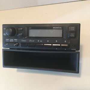 F3 99 00 Honda Civic Am Fm Radio 2dc0 Stereo 39100 s01 a210 m1 Genuine Oem