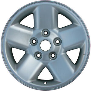 02165 Refinished Dodge Ram 1500 2002 2003 17 Inch Wheel Rim Silver Painted