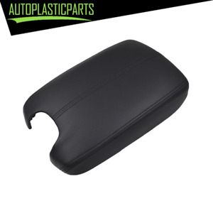 Armrest Center Console Lid Cover Leather Base For 08 12 Honda Accord Black Us