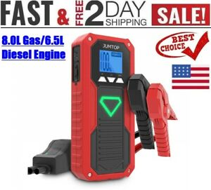 2000a 14400mah Peak Portable Car Jump Starter Auto Battery Booster phone Charger