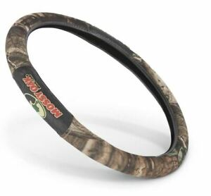 2 Grip Universal Camo Steering Wheel Cover Mossy Oak Design Slip On Soft Touch