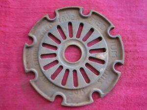 Vintage Ih International Cast Iron 1892a Planter Seed Plate Ring