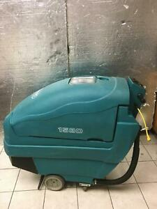 Tennant 2510 Battery Floor Machine Burnisher Buffer With Batteries