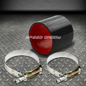 3 5 4 Ply Turbo Intake Intercooler Piping Silicone Coupler Hose T Bolt Clamp