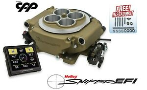 Holley Sniper Self Tuning Efi Fuel Injection Conversion Kit 650hp 550 516