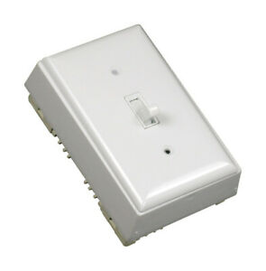 Wiremold Toggle Surface Mount Switch White 1 Pk