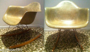 Eames Rar Rope Edge Green 1st G 49 Rocker Zenith Pre Herman Miller Rocking Chair