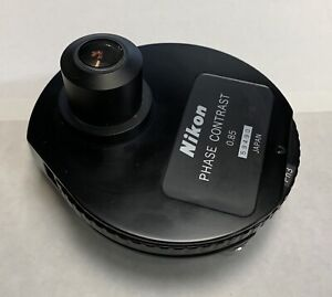 Nikon Phase Contrast 0 85 Microscope Condenser For Optiphot labophot