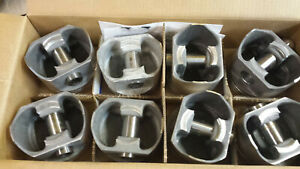 L2266f Standard Bore Forged Pistons 440 Chrysler Set Of 8