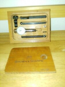 Brown Sharpe Bestest 7027 0001 Dial Indicator Gage machinist Tool Lathe Mil