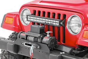 Rough Country Offroad Bumper Fits 1987 2006 Jeep Wrangler Yj Tj