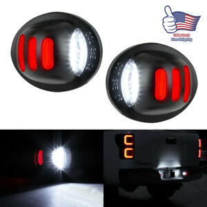 2pcs Red Smd Tube Led License Plate Tag Light Lamp 1999 2016 Ford F150 F250 F350
