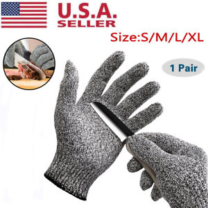 Butcher Glove Cut Proof Stab Resistant Safety Gloves Stainless Wire Metal Mesh