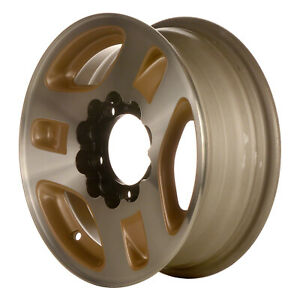 60171 Reconditioned Wheel Aluminum 15in 1996 1997 Geo Tracker Machined W Gold
