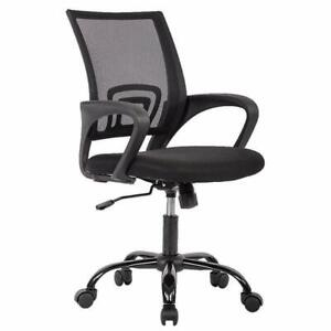 Ergonomic Office Chair Mesh Computer Support Modern Executive Adjustable black