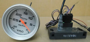 Auto Meter 4471 Pro Comp Ultra Lite Vacuum Gauge 0 30 In Hg 2 5 8 Electrical
