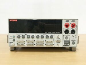 Keithley 2410 1100v Sourcemeter With Lead Set