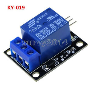 5v One Channel Relay Module Board Shield For Pic Avr Dsp Arm For Arduino