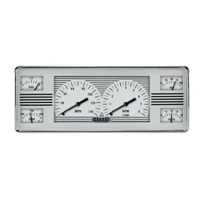 Classic Instruments Fc40wh White Hot 6 In 1 Cluster 1940 Ford
