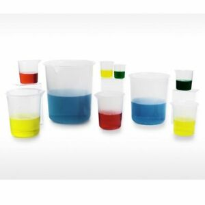Bel art Products F26210 0000 Graduated Beaker Pp 50ml case 48