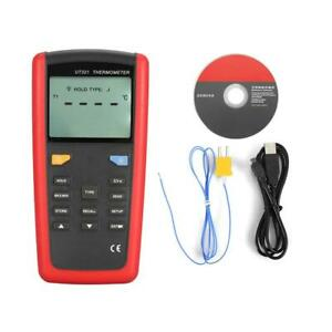 Uni t Ut321 Usb Interface Digital Thermometer With K Type Temperature Probe