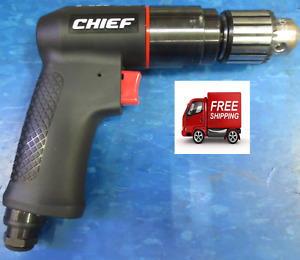 Chief 3 8 In Professional Reversible Air Drill 64752 Ch38rad Free Shipping
