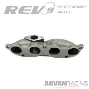 Rev9 Mf 010 Honda K20 Motor Turbo Manifold Cast Iron T3 Flange For T3 t4 Turbo