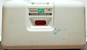 Risograph Gr Color Drum w Red For Riso Printer Not Tested Has Ink Parts Only
