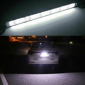 1pc 90 Smd White Led License Plate Light Bolt On Lamp For Backup Reverse Lights